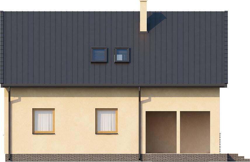 Projekt domu DM-6068 - elewacja
