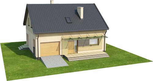 Projekt domu DM-6068 - model