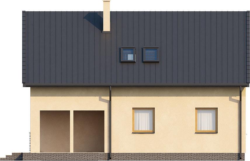 Projekt domu L-6068 - elewacja