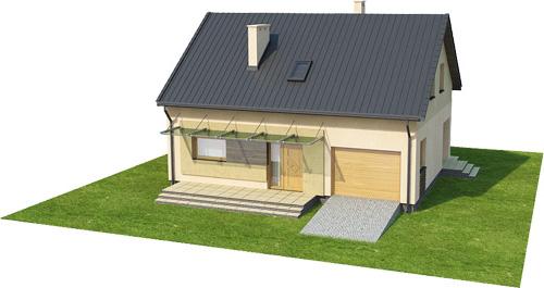 Projekt domu L-6068 - model