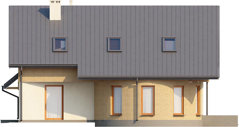 Projekt domu DM-6140 - elewacja