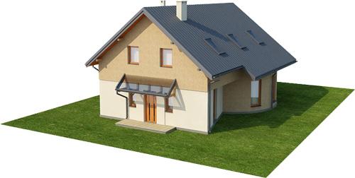 Projekt domu DM-6140 - model