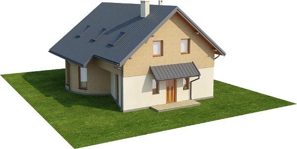 Projekt domu L-6140 - model