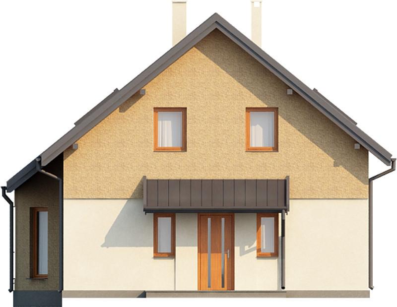 Projekt domu L-6140 - elewacja
