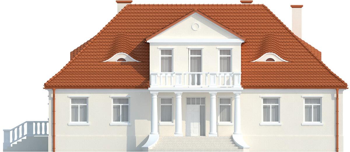 Projekt domu L-6513 - elewacja