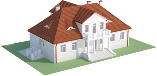 Projekt domu L-6513 - model