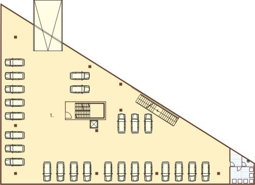Projekt K-64 - rzut