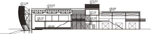 Projekt K-63 - przekrój