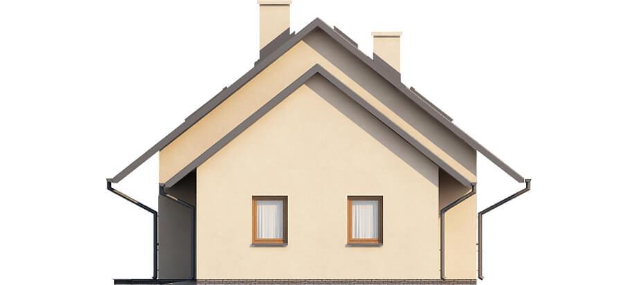Projekt domu DM-6515 - elewacja