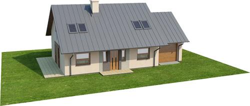 Projekt domu DM-6515 - model