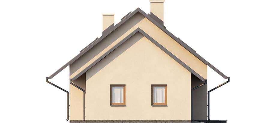 Projekt domu L-6515 - elewacja