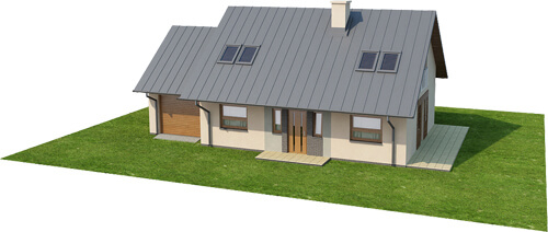 Projekt domu L-6515 - model