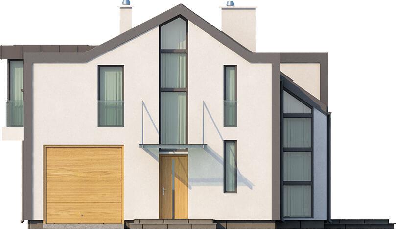 Projekt domu DM-6506 - elewacja