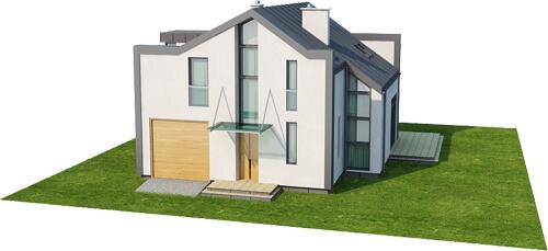 Projekt domu DM-6506 - model