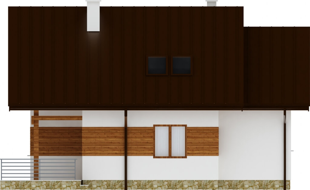 Projekt domu DM-6183 - elewacja