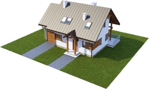 Projekt domu DM-6183 - model