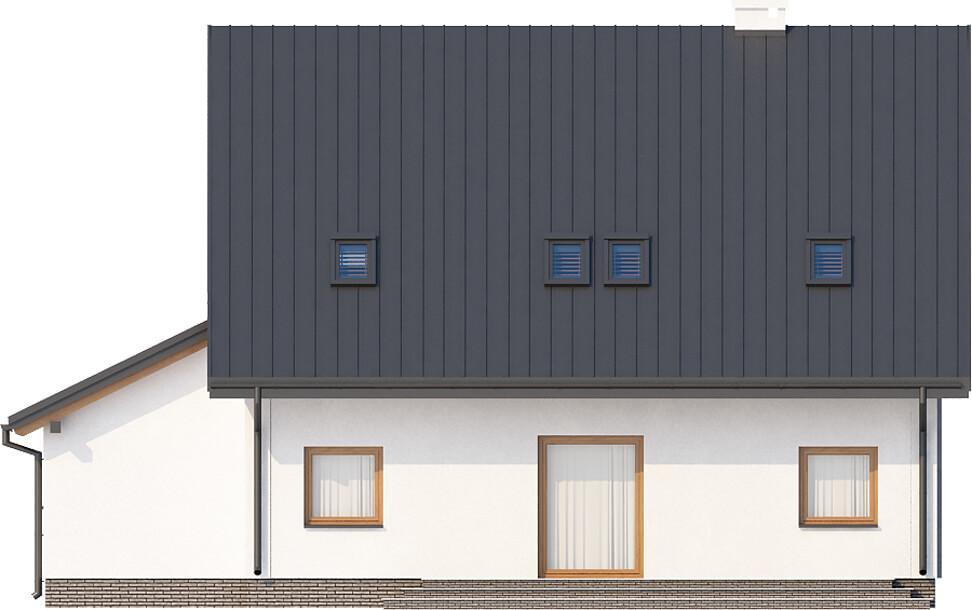 Projekt domu DM-6517 - elewacja