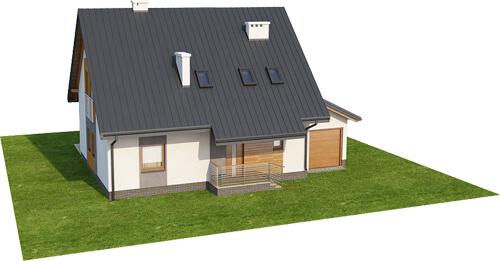 Projekt domu DM-6517 - model