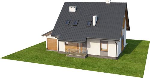 Projekt domu L-6517 - model