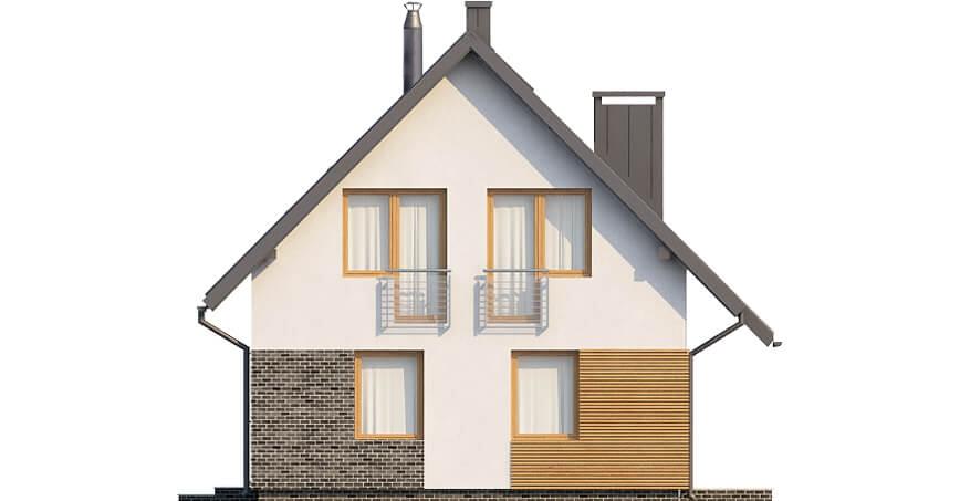 Projekt domu DM-6518 - elewacja