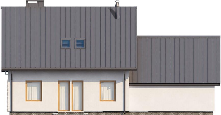 Projekt domu L-6518 - elewacja