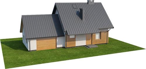 Projekt domu L-6518 - model