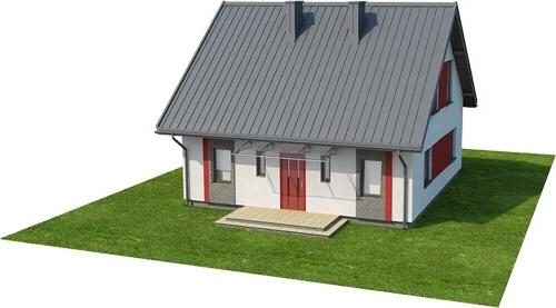 Projekt domu L-6519 - model