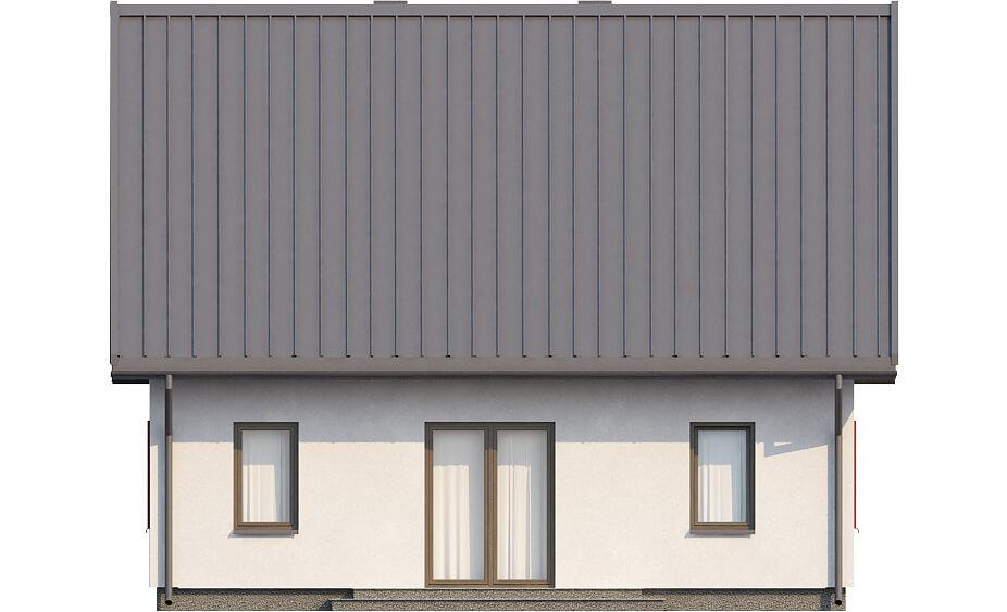 Projekt domu L-6519 - elewacja