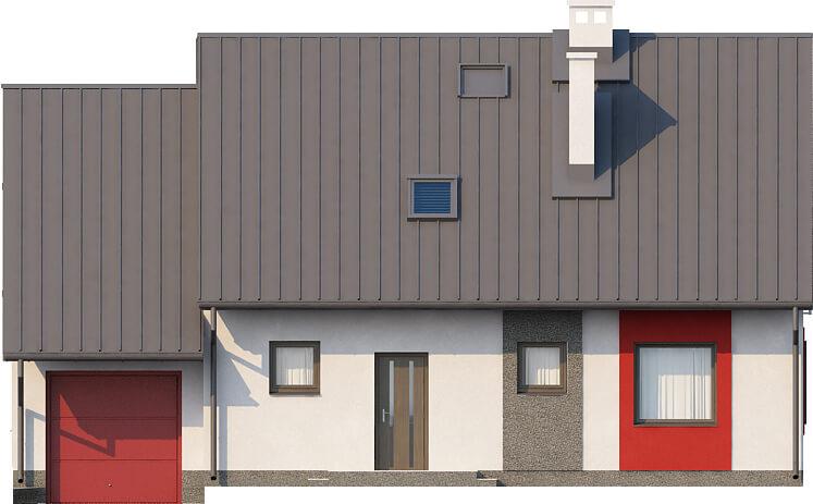 Projekt domu DM-6520 - elewacja