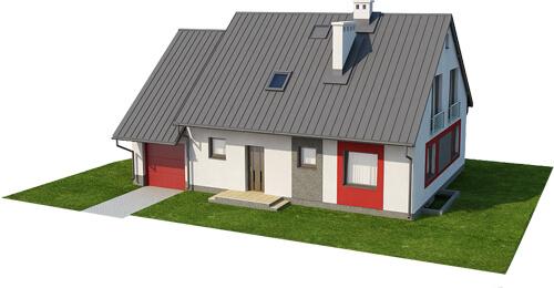 Projekt domu DM-6520 - model
