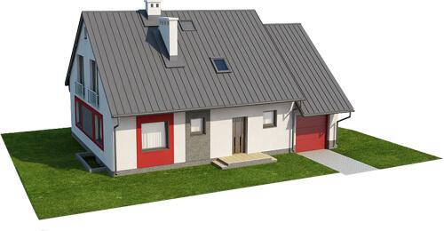 Projekt domu L-6520 - model