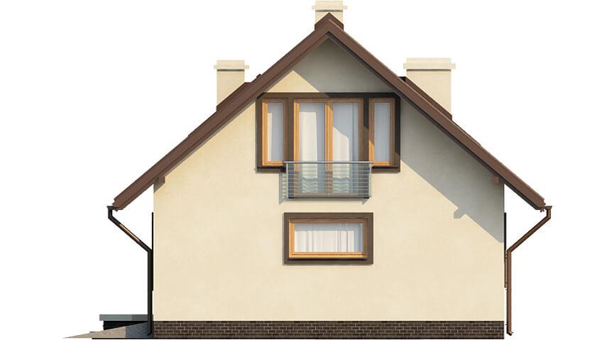 Projekt domu DM-6521 - elewacja