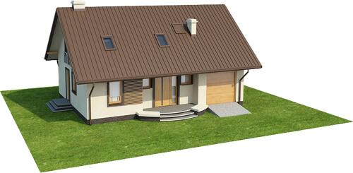 Projekt domu DM-6521 - model