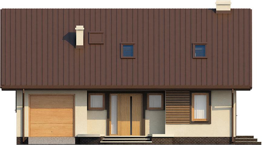 Projekt domu L-6521 - elewacja