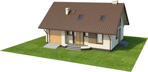 Projekt domu L-6521 - model