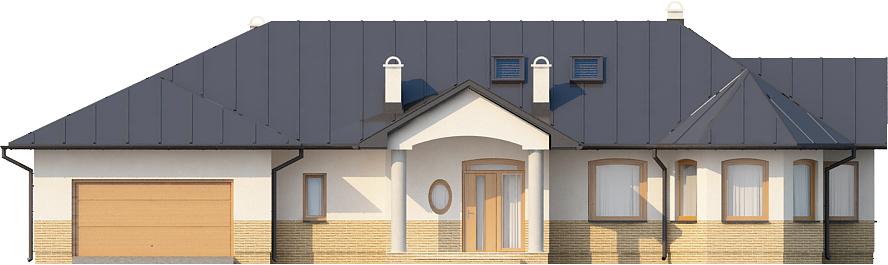 Projekt domu DM-5508 N - elewacja