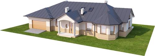 Projekt domu DM-5508 N - model