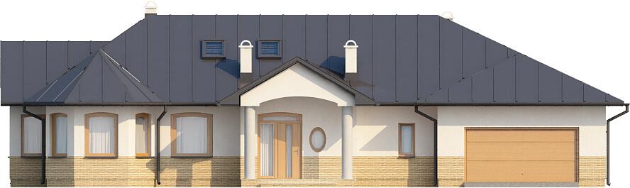 Projekt domu L-5508 N - elewacja