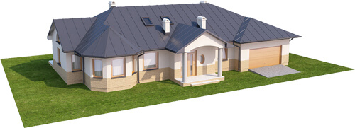 Projekt domu L-5508 N - model