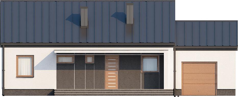 Projekt domu L-5538 N - elewacja