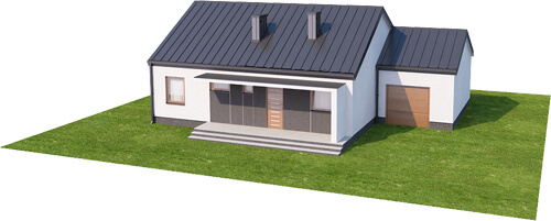 Projekt domu L-5538 N - model