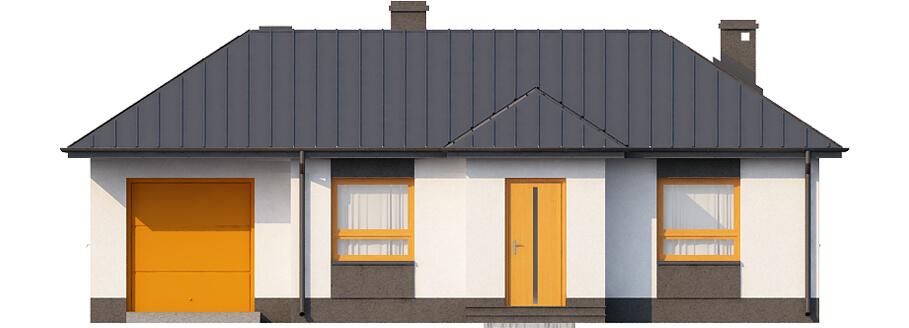 Projekt domu DM-6018 N - elewacja