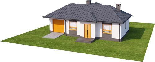 Projekt domu DM-6018 N - model