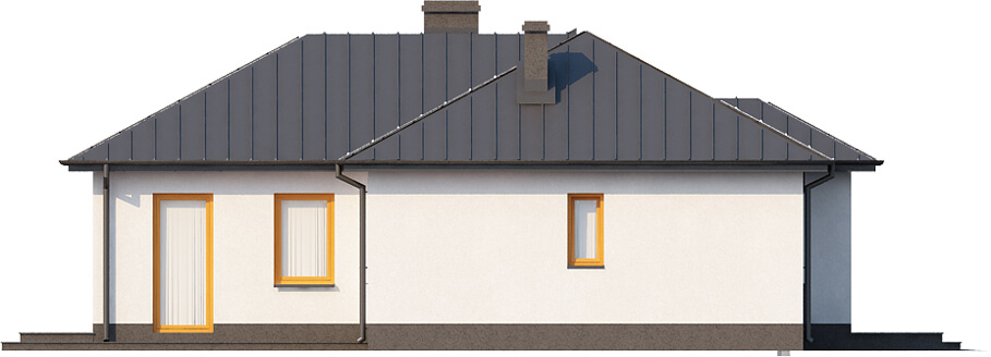 Projekt domu L-6018 N - elewacja