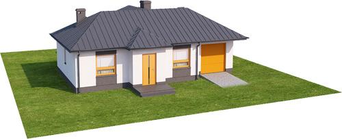 Projekt domu L-6018 N - model