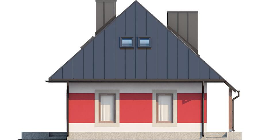 Projekt domu DM-6083 N - elewacja