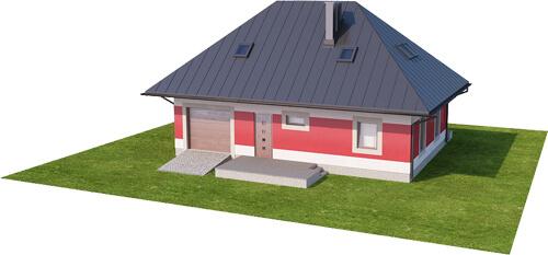 Projekt domu DM-6083 N - model