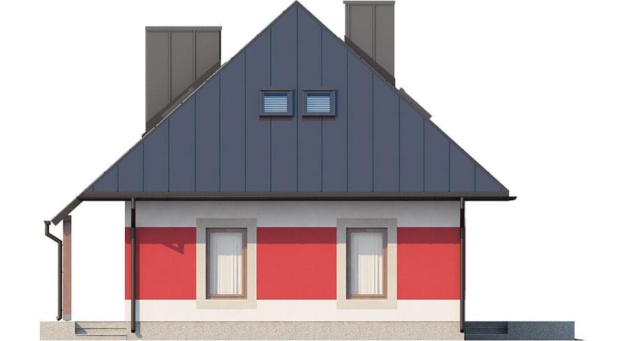 Projekt domu L-6083 N - elewacja
