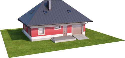 Projekt domu L-6083 N - model