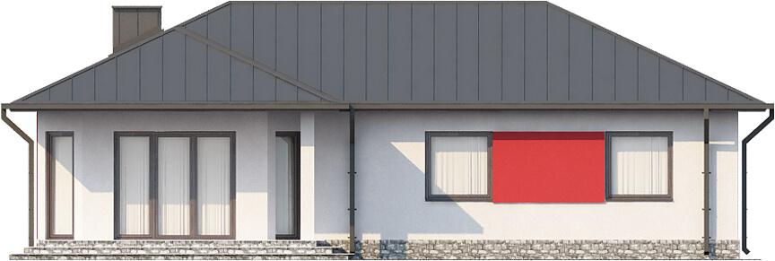 Projekt domu DM-6087 N - elewacja